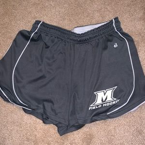 badger Shorts - Manhattanville College Field Hockey Shorts